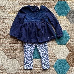 SOLD 18 Month Outfit Flower Outfit